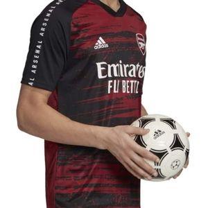 Adidas Arsenal Pre Match Training Shirt 20/21 NWOT